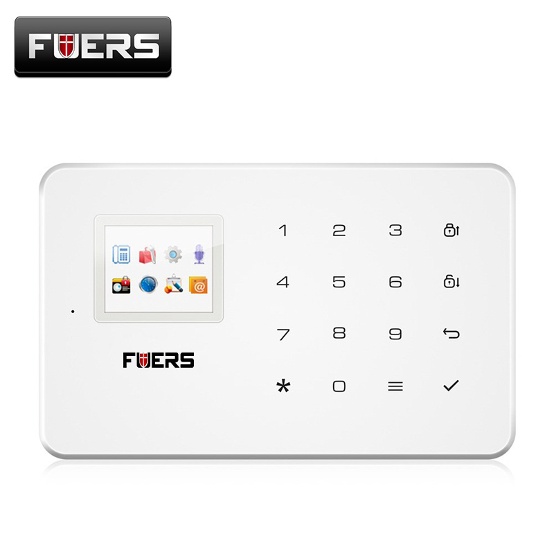 все цены на FUERS G18 Wireless GSM Alarm Systems Security Home IOS/Android APP Remote Control Alarm Control Panel