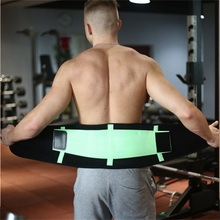 Fat Burn Belly Brace Custom Waist Trimmer Belt Working Lumbar Support Lower Back for Pain Free Shipping