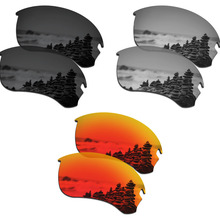 e97f6bfad53e1 SmartVLT 3 Pairs Polarized Sunglasses Replacement Lenses for Oakley Si  Speed Jacket