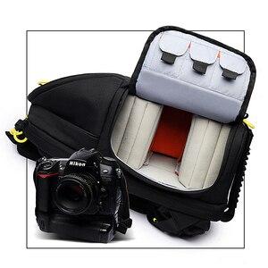 Image 3 - Сумка для камеры NOVAGEAR 6615 DSLR, рюкзак для камеры, универсальный вместительный дорожный рюкзак для камеры Canon/Nikon