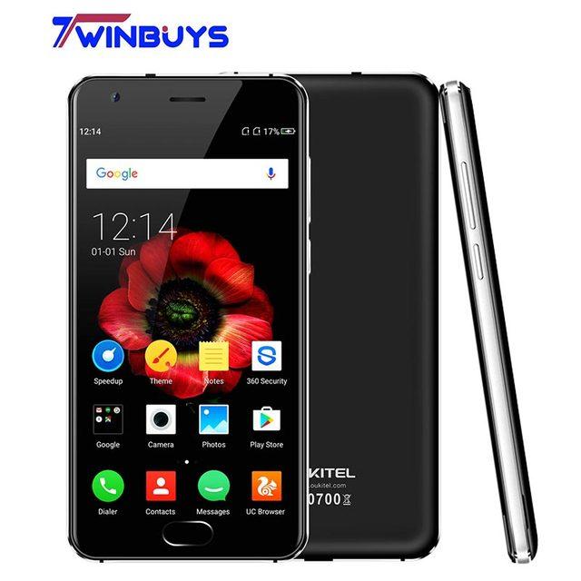 "Original Oukitel K4000 Plus MTK6737 Quad Core 1.3GHz Android 6.0 5.0"" HD 2GB RAM 16GB ROM 8.0MP 4100mAh 4G LTE Mobile Phone"