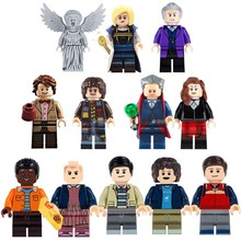 Single Doctor Who TV Series Action building blocks Stranger Things Blade Hellboy Uzumaki John Rambo Toys For Children(China)