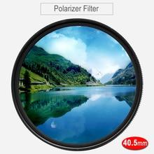 Cpl 필터 40.5mm 원형 편광판 편광 필터 sony 16 50mm 렌즈 용 a6500 a6400 a6300 a6000 a5100 a5000 NEX 6/3n/5 t/5r