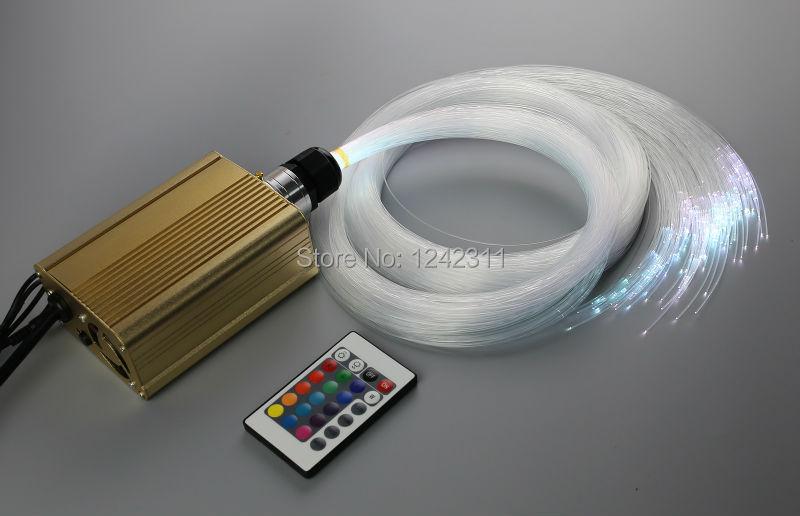 DIY stars sky optic fiber light kit RGB Led light source 5mx150 strands optical fibers for home decoration night lighting diy sky 5 diy kawaii papelaria 3