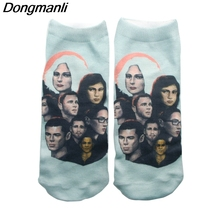 P3876 1 Pair Personalise Sense8 TV Socks Invisible Low Cut Ankle Sock Summer Casual Breathable Short Unisex
