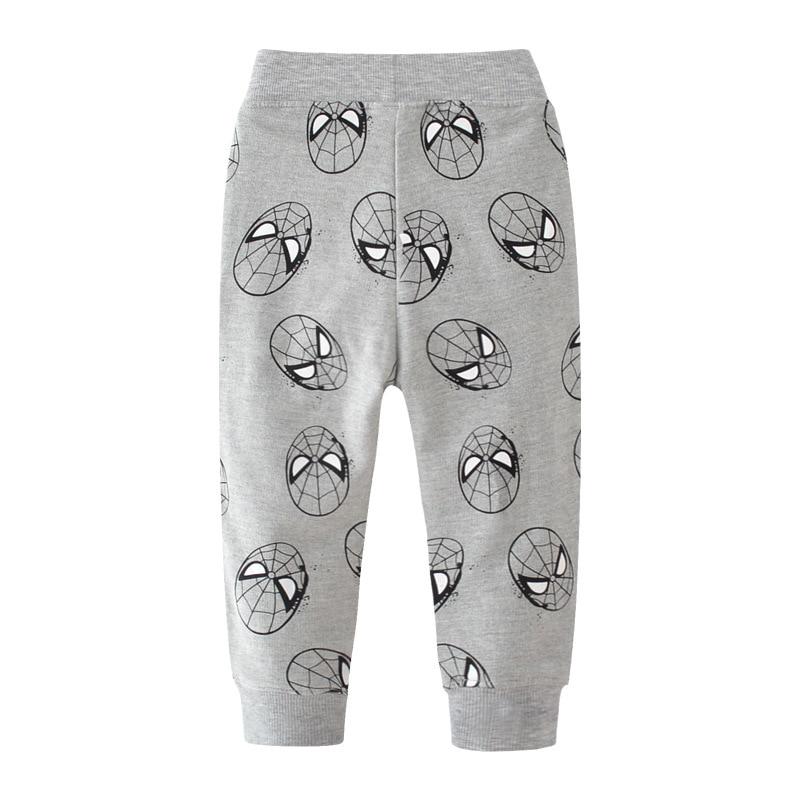 SAILEROAD 2-7Years Animal Pants for Boys Autumn Enfant Sports Boy Pants Cotton Pantalon Enfant Garcon Kids Pants Boys 2
