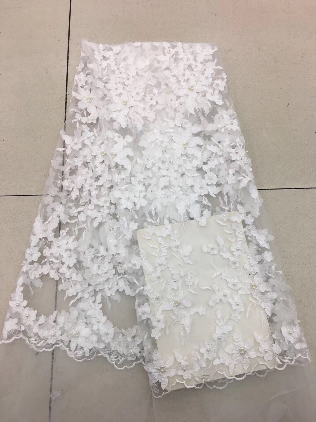 African Sequins Bridal Lace Fabric 2019 High Quality Lace Nigerian Lace Fabrics Royal Blue Lace Dress For Party Dress R129