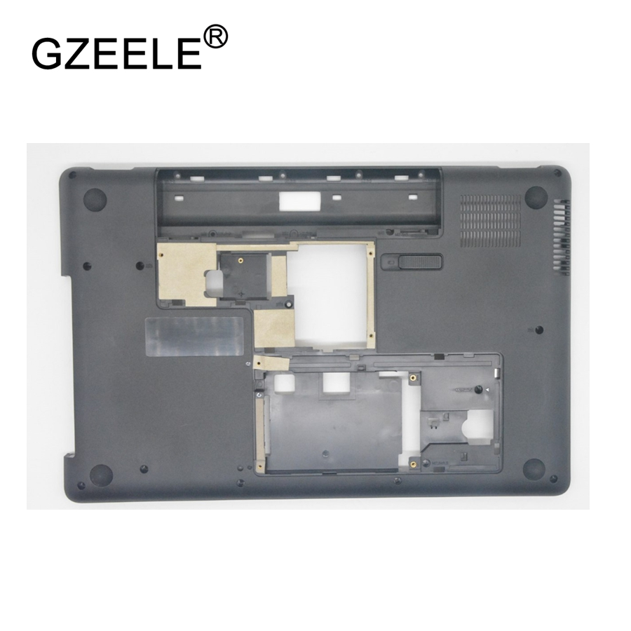 GZEELE New For HP Pavilion CQ62 G62 Laptop Lower Bottom Base Case Cover Black 617021-001 Assembly