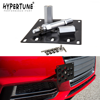 Hypertune - Front Bumper Tow Hook License Plate Mounting Bracket Holder For BMW For Audi For Honda For VW For LEXUS image
