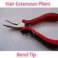 Bend tip plier DIY Hair Extension Tool Clip Plier for micro rings/links/beads & Feather hair extension
