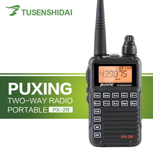 Kép Chuyên Nghiệp Thu Hai Chiều Cập Nhật Phiên Bản PUXING PX 2R UHF 400 470MHz(UHF TX/RX VHF RX)