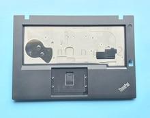 цена на New Original for Lenovo ThinkPad T460P Keyboard Bezel Palmrest Cover without Touchpad with Fingerprint Hole 01AV925