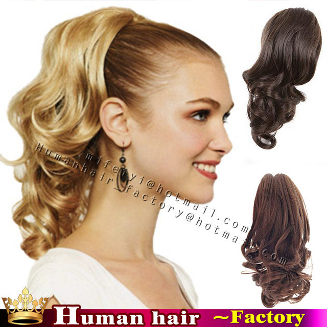 Virgin brazilian claw clip ponytail remy human natural hair virgin brazilian claw clip ponytail remy human natural hair ponytails natural hairpiece short clip in human pmusecretfo Choice Image