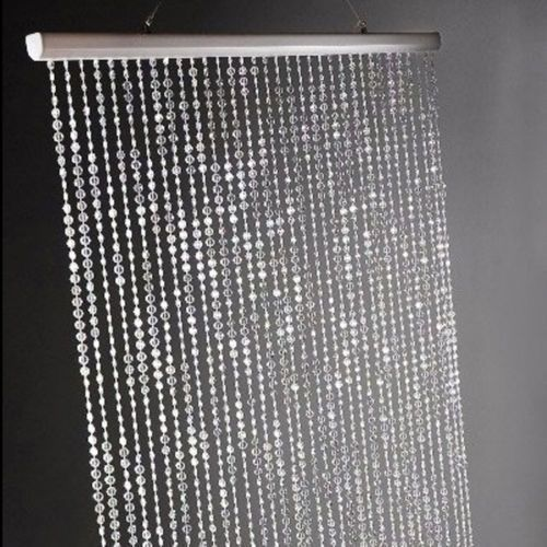12FT(Height) Sparkles Beaded Curtains Sparkle Bead Chandeliers Sparkles Rolls of Beads 4PCS/Lot
