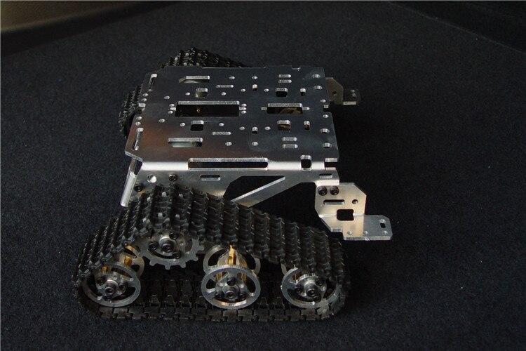 Châssis de réservoir de voiture intelligente châssis sur chenilles véhicules caterpillar châssis de robot wall-e