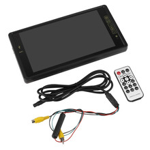 TFT LCD 720P 9 Inch Car FM Mp4 MP5 Video Player Auto Parking Monitor Support Rear Camera SD USB Flash Built in Speaker car stereo mp5 video player 4 inch auto radio bluetooth usb sd aux fm receiver handsfree in dash hd ir remote control mp5 video