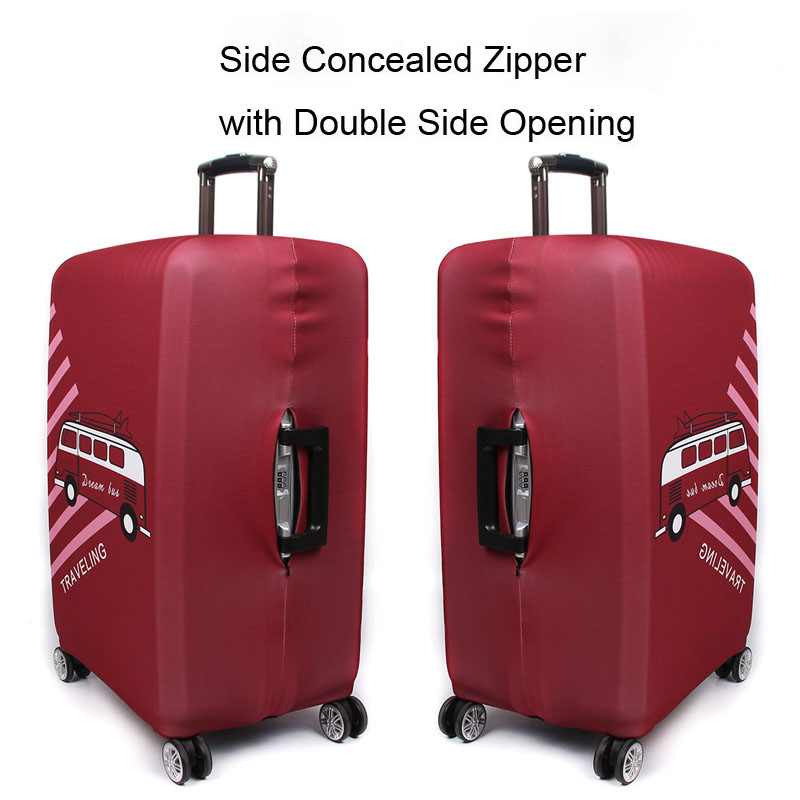 Thickert Luggage Cover Travel Suitcase Protective Cover Suitable for 18-32 Inch Trolley Elastic Dust Cover Travel Accessories