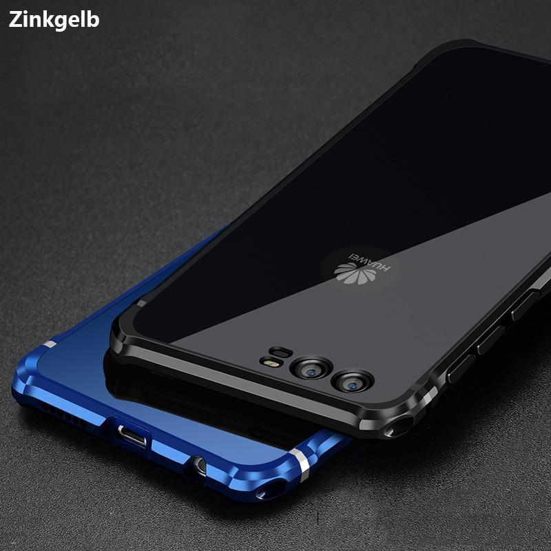 Für Huawei P10 Fall-abdeckung Luxus Glitter Dünne Harte Metall ...
