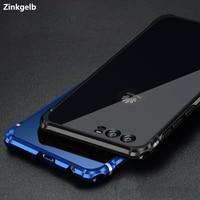 For Huawei P10 Case Cover Luxury Glitter Slim Hard Metal Aluminium Frame Protective Armor Phone Case