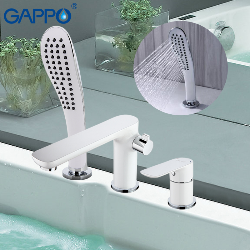 Gappo New shower set waterfall bathtub sink faucet water mixer bathroom shower faucet bath shower set taps torneira grifo G1148 gappo new modern bathroom waterfall bathtub sink faucet torneira mixer cold