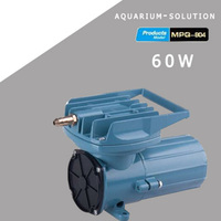 60W RESUN MPQ 904 DC 12V Aquarium Fish Tank Air Compressor Portable Aquaculture Vehicle Mounted Air Pump Oxygen Aerator Pump