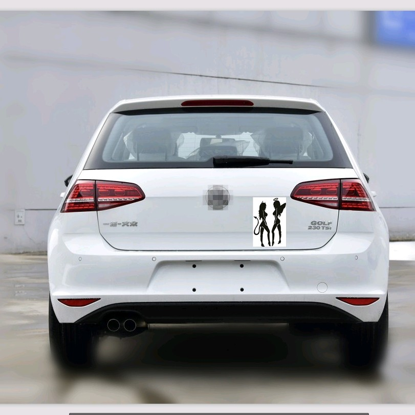 car styling sticker accessories stickers for Volkswagen VW Polo Passat B5 B6 CC GOLF 4 5 ...