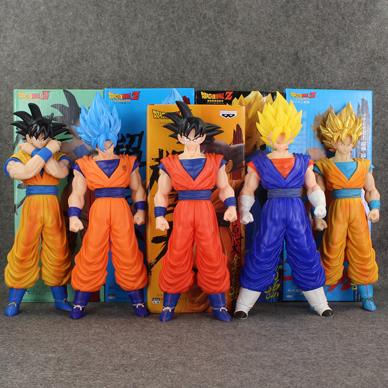 38~41cm Anime Dragon Ball Z Figure DragonBall Z Super Big Super Saiyan Son Gokou Vegeta Action Figure Collectible Model Toy Doll anime 15cm dragon ball z action figure toys 5 9inch collectible son gokou figure models anime brinquedos christmas gifts doll