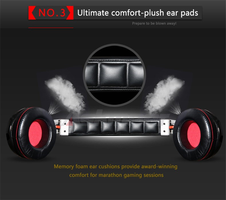 USB Gaming Headphones with Micrphone 7.1 Surround Sound Stereo Glowing Headset (12)