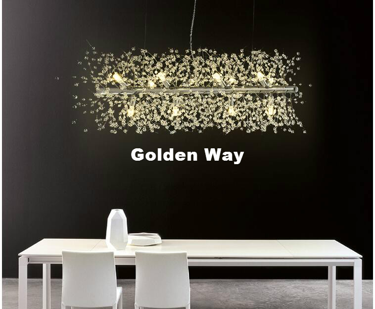 Free Shipping Crystal Pendant Lamp L73cm D35cm G9 Modern Light Decor Dining Room Living Room Suspension Nordic Pendant Lighting a gauge 7 inch lcd at070tn94 highlight navigation screen screen