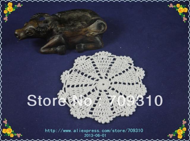 Free Shipping Hand Made Crochet Table Mat Vintage Crochet Pattern