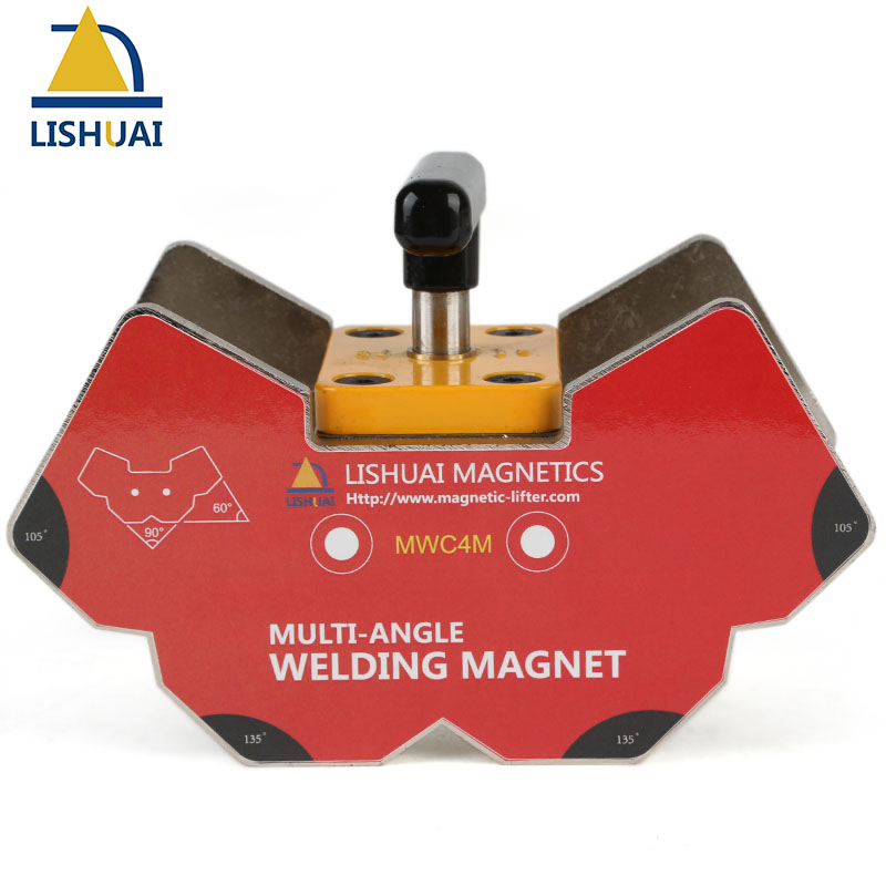 Multi-angle Switchable Magnetic Holder /On&off Switch Strong Power NdFeB Welding Magnets Clamp Large Size купить