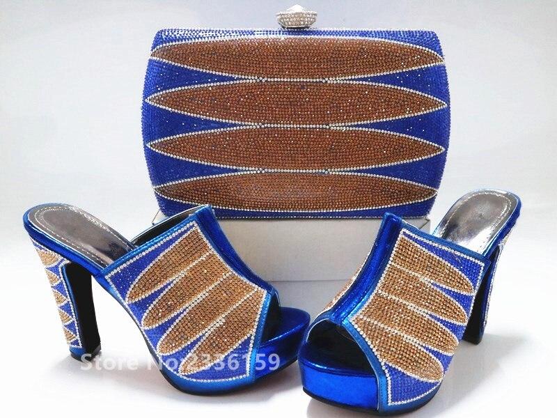 Y rojo Juego De Llegada Bolsa Mujeres oro Nigeriano Con Las Diseñadores Rhinestone Zapatos Bolso Nueva Negro A Italia Zapato Lujo azul Boda Conjunto verde Y5xwwIgd