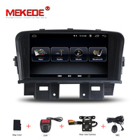 MEKEDE автомобильный Радио Мультимедиа Видео плеер навигация gps Android аксессуары для Chevrolet Cruze седан без dvd 2 din 4 2011 2014