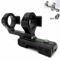 Tactical 25 30mm Caliber Aiming Sight 20mm Rail Mount for Rifle Scope Mount Hunting Accessory