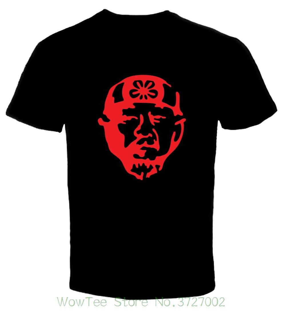 Mr Мияги karate kid 5 т рубашка Размеры S-6XL, & gt; бесплатная доставка & lt; летняя хлопковая Футболка Модные