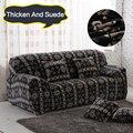 Sofa Stretch Slipcover, Sofa tight wrap all-inclusive slip-resistant sofa cover elastic sofa towel Single/Two/Three/Four-seater
