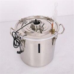 Seau de fermenteur d'acier inoxydable de réservoir de fermentation de vin d'enzyme scellé par eau de joints hydrauliques de XMT-HOME 20/30/70L 1pc