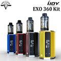 Ijoy exo 360 kit 360 w tc vw caja vape mod y 5 ml llenado superior exo XL Sub Tanque Ohm con XL-C2 XL-C4 Bobina EXO EXO 360 Kit vs 360 Mod