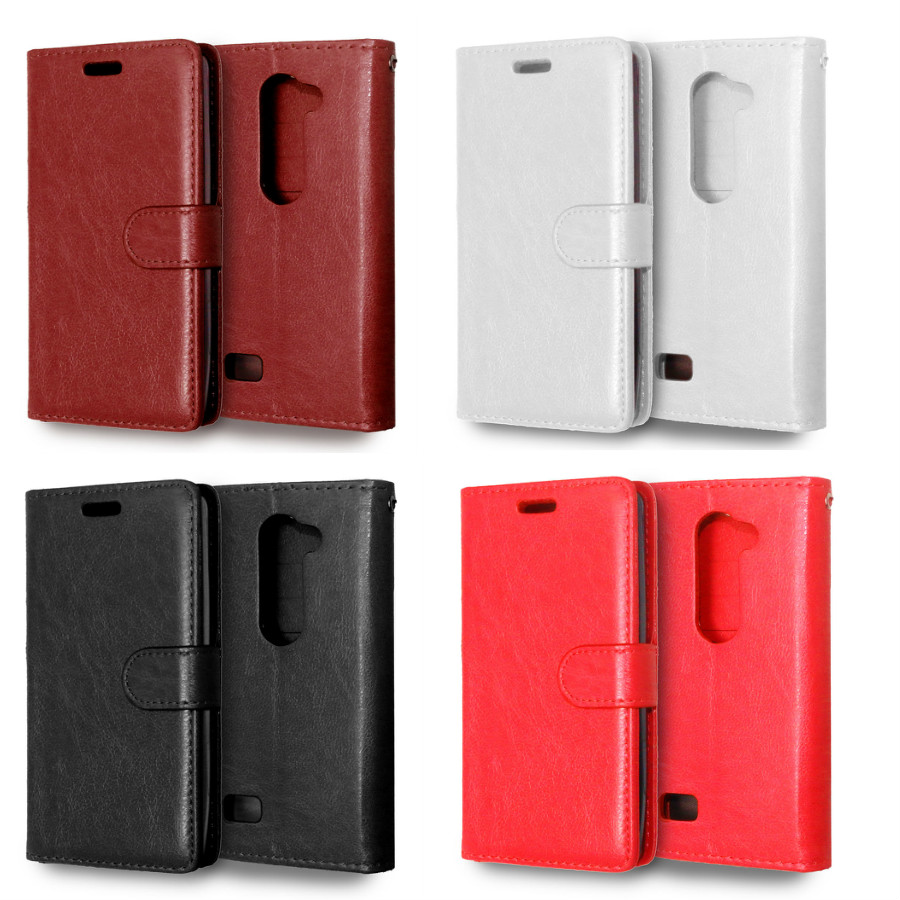 50% Off Top Quality Stand Card Holder Wallet Style Leather Book <font><b>Case</b></font> For <font><b>LG</b></font> <font><b>Leon</b></font> C40 <font><b>4G</b></font> <font><b>LTE</b></font> H340N H324 phone <font><b>case</b></font> back cover image