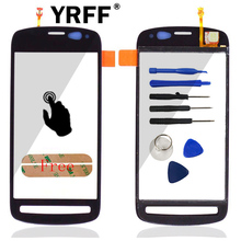 New A+++ For Nokia PureView 808 803 Touch Screen With Digitizer Outer Glass Lens Replacement + Adhesive Tools Logo Free Shipping