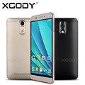 6 Дюйм(ов) Quad Core Android 5.1 Смартфон Y20 Dual SIM Карты 8 ГБ ROM 1 Г RAM Xgody MTK6580 С 5.0MP Камера Мобильного Телефона