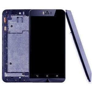 Image 1 - IPartsBuy yeni ASUS Zenfone Selfie için ZD551KL Z00UD LCD ekran ve sayısallaştırıcı tam meclisi ile çerçeve