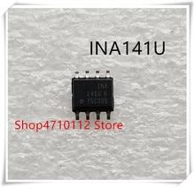NOVA 10 pçs/lote INA141UA INA141U INA141 INA 141U SOP-8 IC