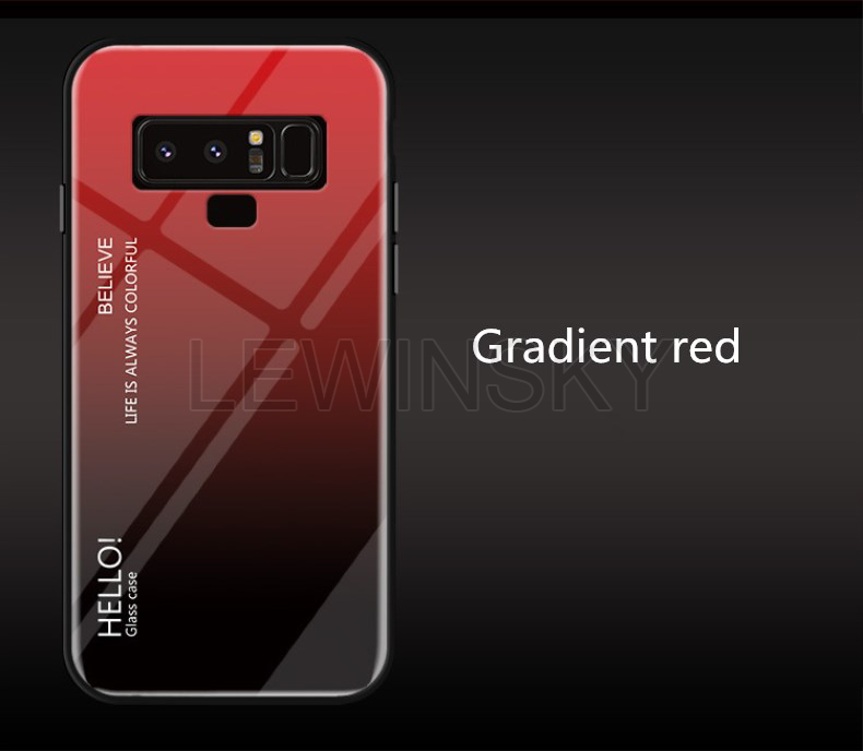Gradient Glass Case for Samsung