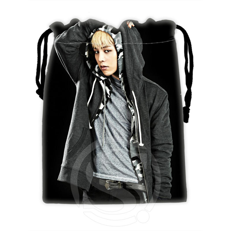 H-P669 Custom Bigbang#6 Drawstring Bags For Mobile Phone Tablet PC Packaging Gift Bags18X22cm SQ00806#H0669