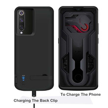 5000 MAH Battery Charger Case  For Xiaomi Mi 9  External Smart Capa Battery Cover Power Bank For Xiaomi Mi9 Battery case