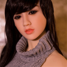 Beautiful Asian TPE WMDOLL Silicone Sex Doll head+free wig for 140-170cm