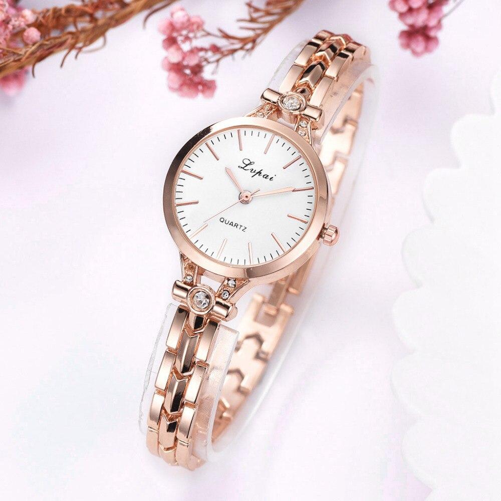 Lvpai Brand Women's Clock Fashion Casual Bracelet Watches Luxury Business Quartz Wristwatches Ladies Watch Montre Femme 2019