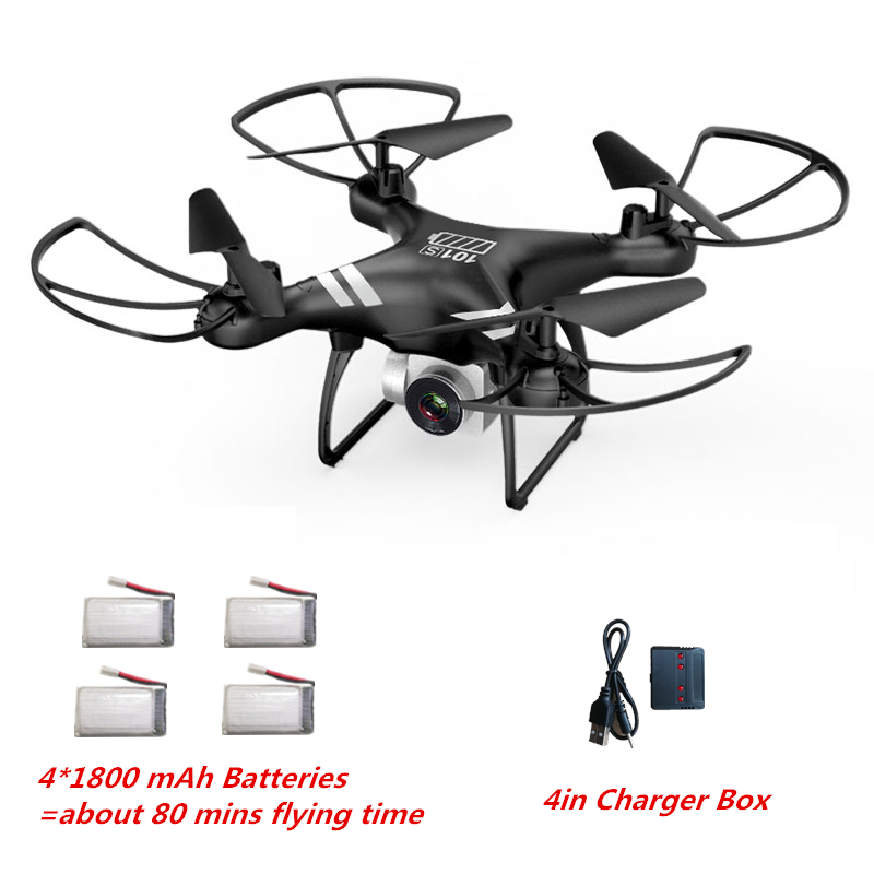 KY101S RC Drone Wifi FPV HD Adjustable Camera 5.0MP 1080P Al