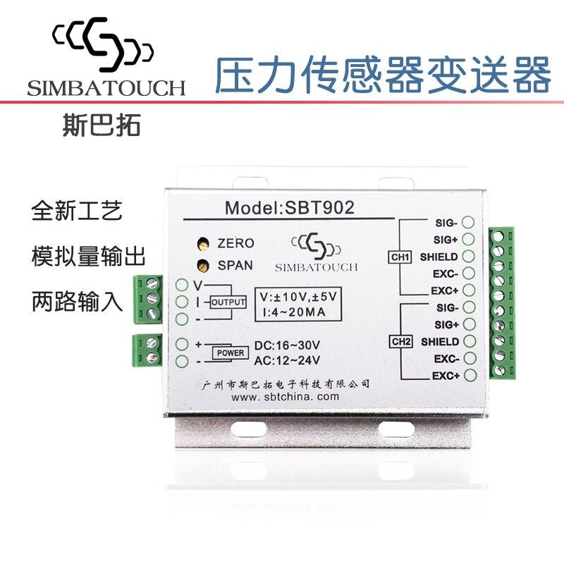 Force Measurement Simulation Of SBT902 Pressure Sensor Transmitter 0-20mA 4-20mA 0~+-10v